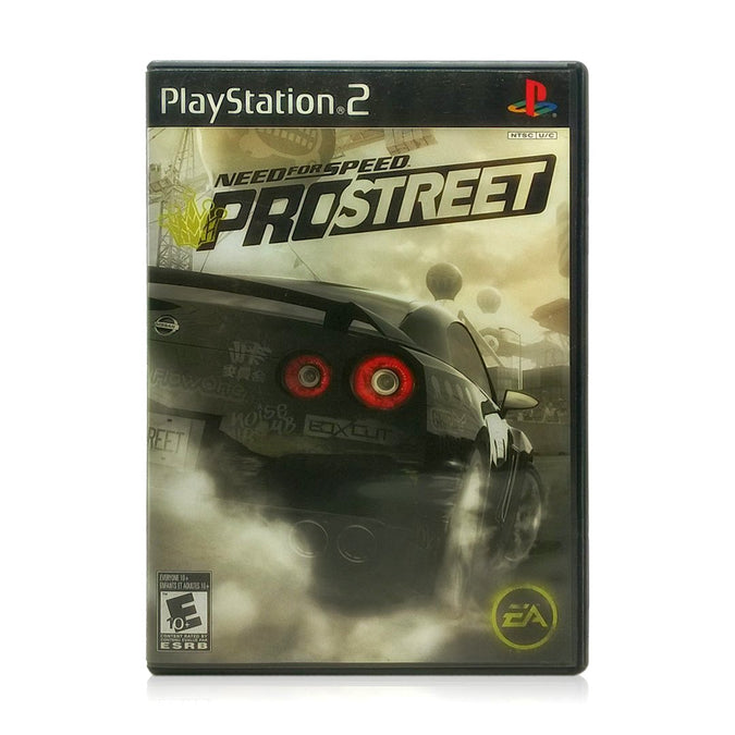 Need for Speed: ProStreet Sony PlayStation 2 Game - Case
