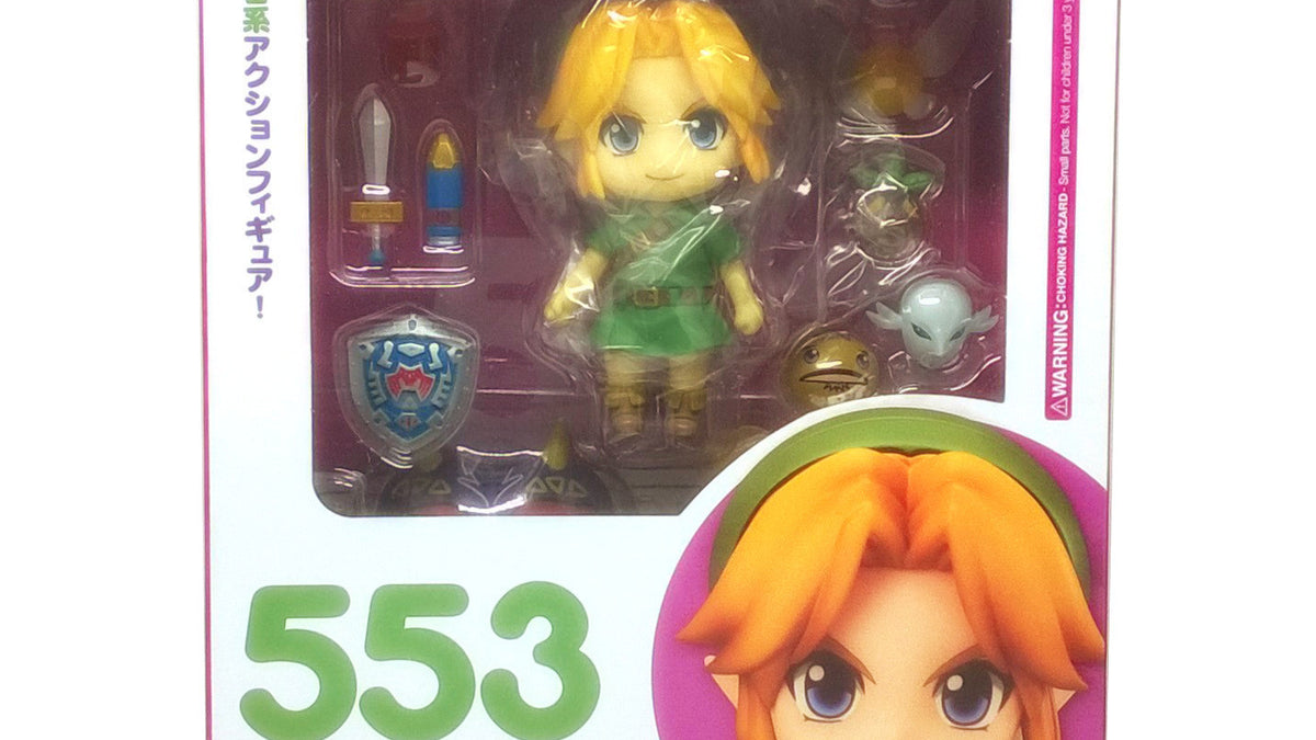 New Link Figure #553 - Majora's Mask 3D Version - Box