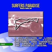 Newman/Haas IndyCar featuring Nigel Mansell SNES Super Nintendo Game - Screenshot