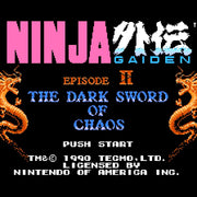 Ninja Gaiden II: The Dark Sword of Chaos NES Nintendo Game - Screenshot 1