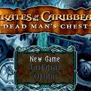 Pirates of the Caribbean: Dead Man's Chest Nintendo GBA Game Boy Advance Game - Titlescreen