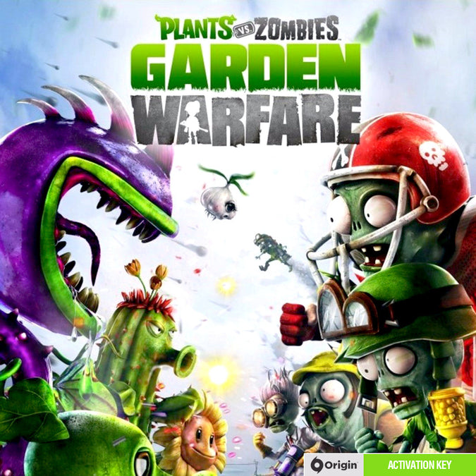 Plants vs Zombies: Garden Warfare PC Game Origin CD Key