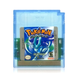 Pokémon Crystal Version Reproduction Nintendo Game Boy Color Game