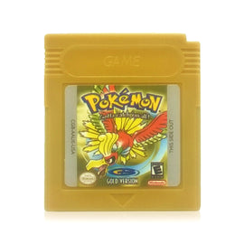 Pokémon Gold Version Reproduction Nintendo Game Boy Color Game