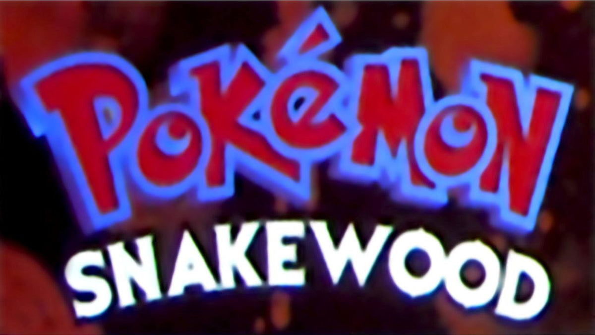 Pokémon Snakewood Nintendo GBA Game Boy Advance Game