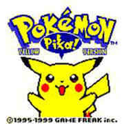 Pokémon Yellow Version: Special Pikachu Edition Reproduction Nintendo Game Boy Game - Screenshot 1