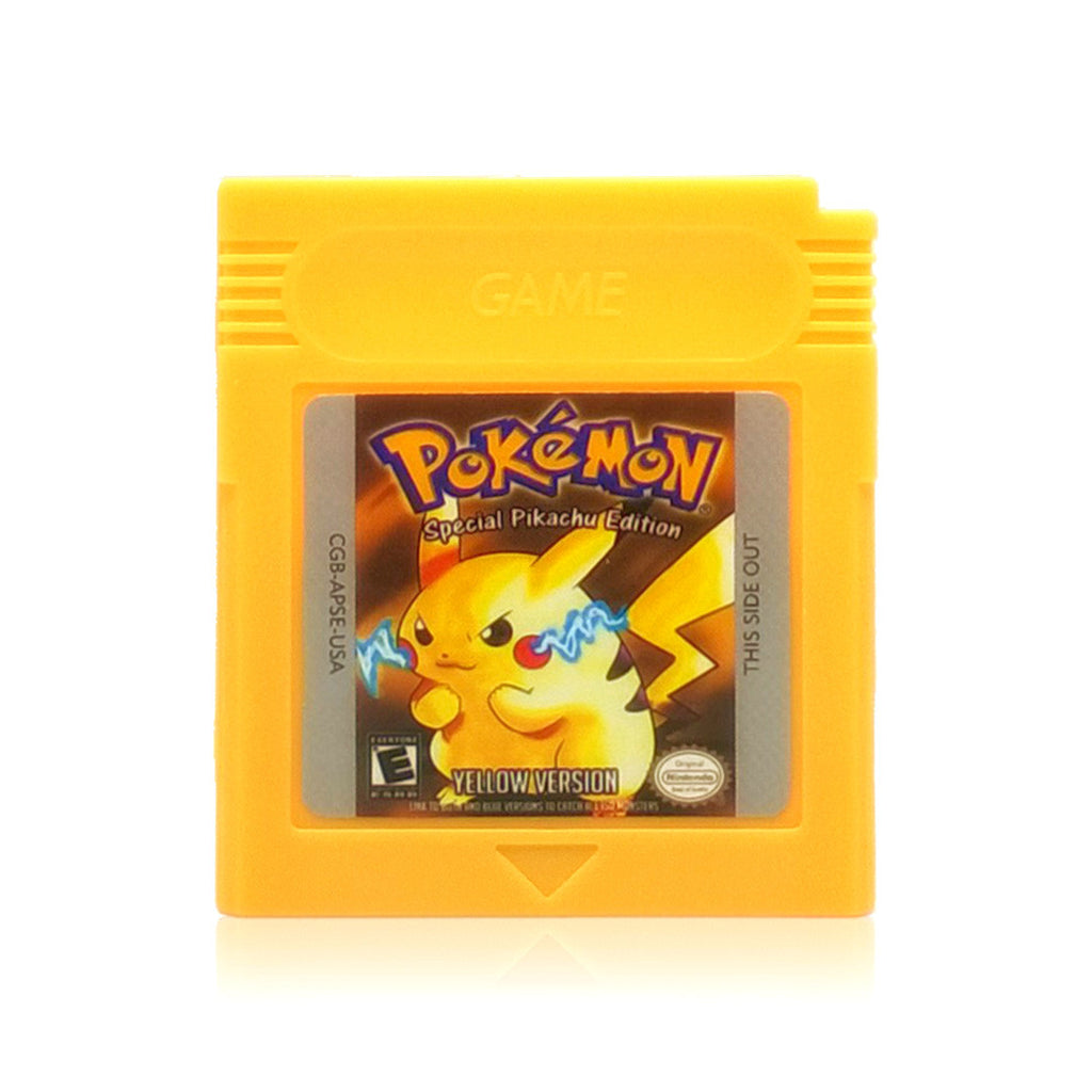 Gameboy color and pokemon yellow - Pok Mon Yellow Version Special Pikachu Edition Reproduction