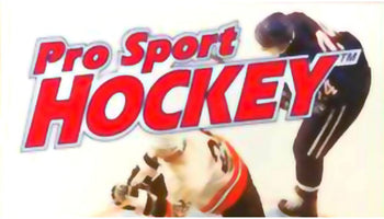 Pro Sport Hockey SNES Super Nintendo Game