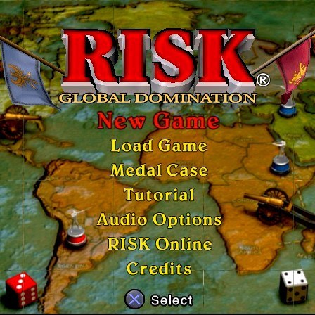 Risk global domination for ps2