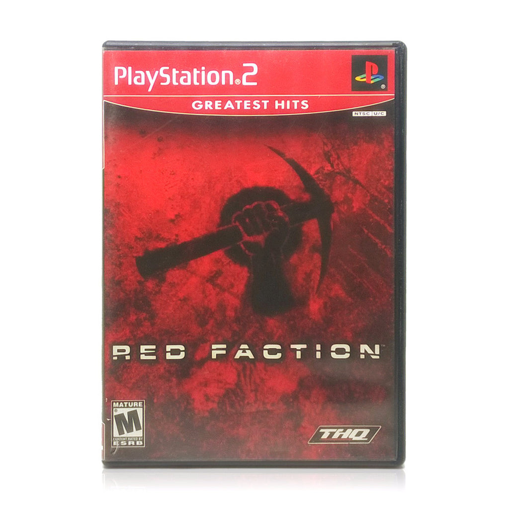 Red Faction Sony PlayStation 2 Game - Case