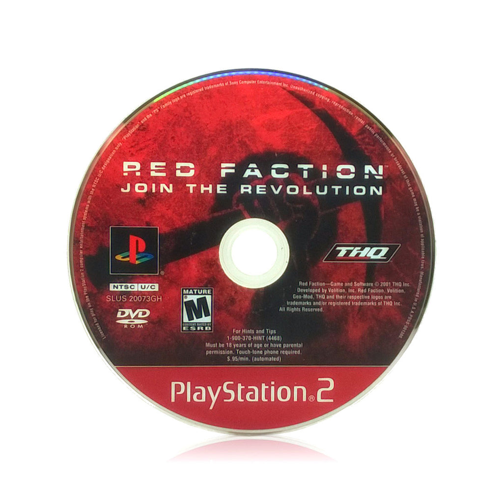 Red Faction Sony PlayStation 2 Game - Disc