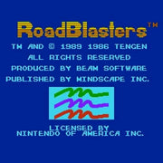 RoadBlasters NES Nintendo Game - Screenshot