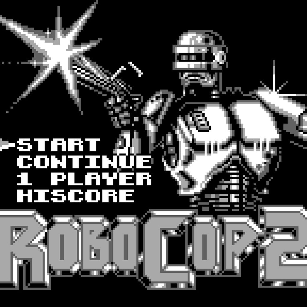 RoboCop 2 Nintendo Game Boy Game - Screenshot 1