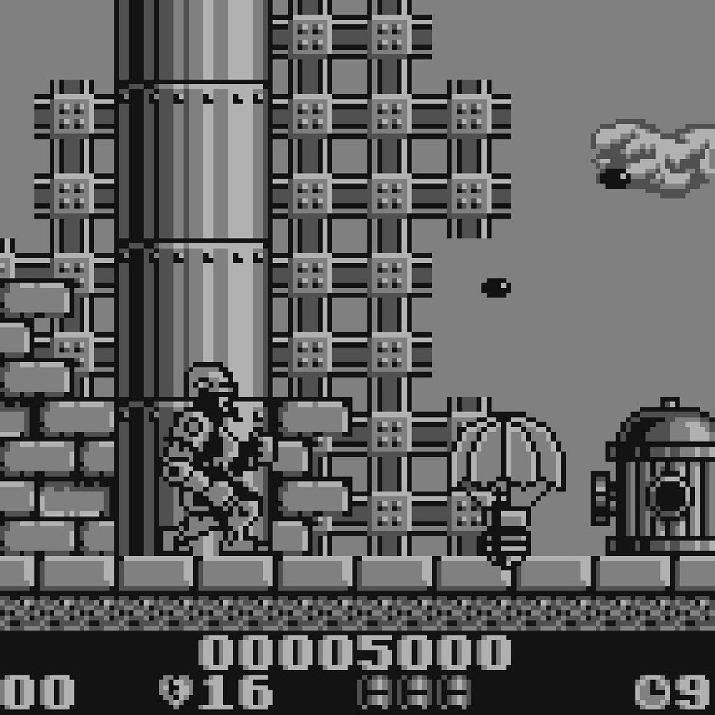 RoboCop 2 Nintendo Game Boy Game - Screenshot 2