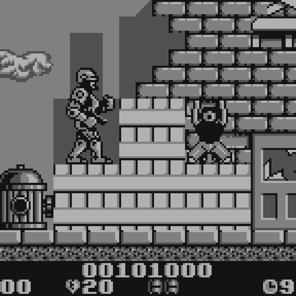 RoboCop 2 Nintendo Game Boy Game - Screenshot 3