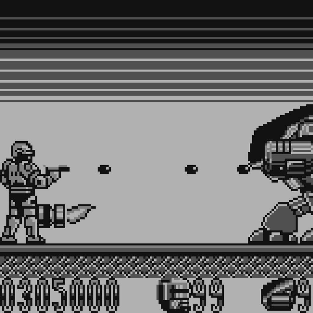 RoboCop 2 Nintendo Game Boy Game - Screenshot 4