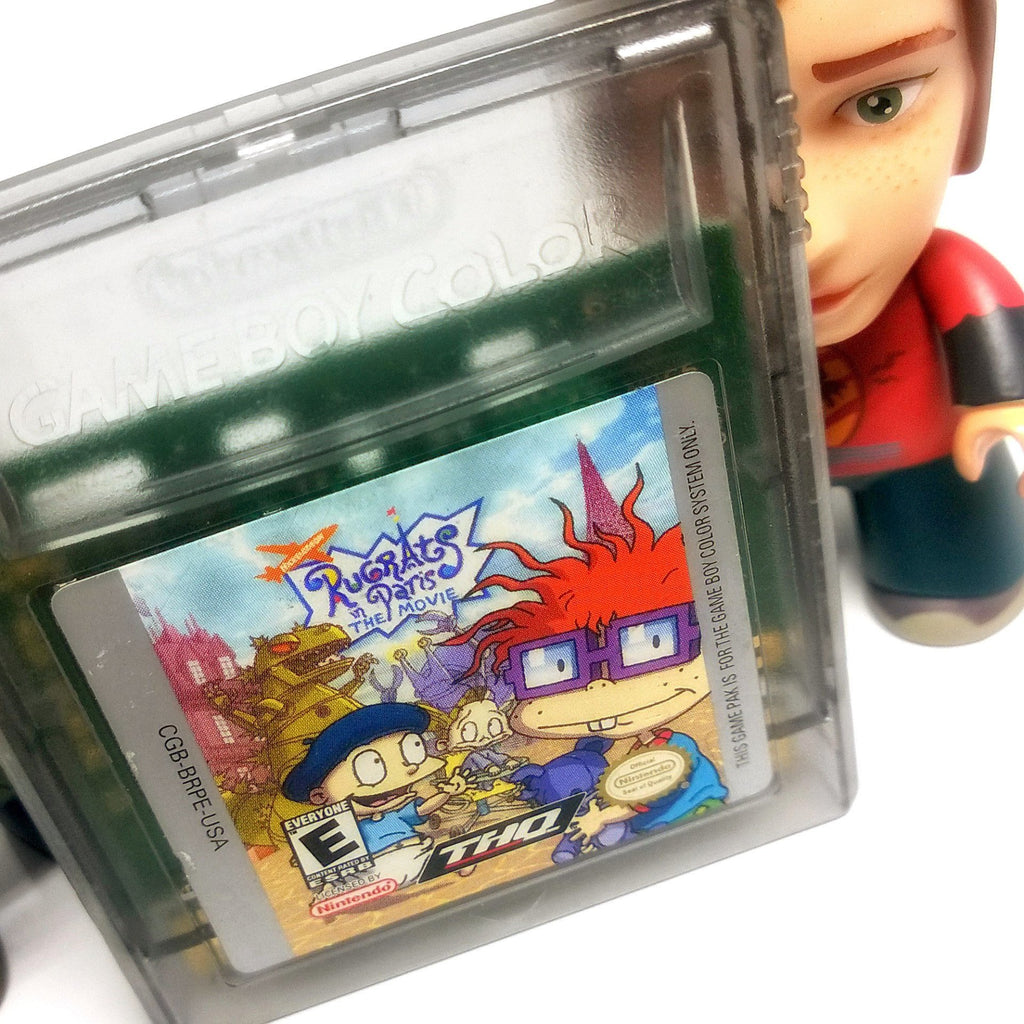Rugrats in Paris: The Movie Nintendo Game Boy Color Game