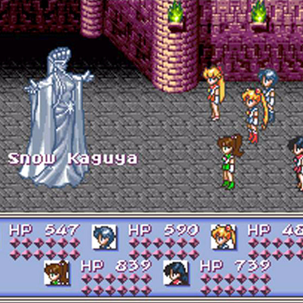 Sailor Moon: Another Story SNES Super Nintendo Game