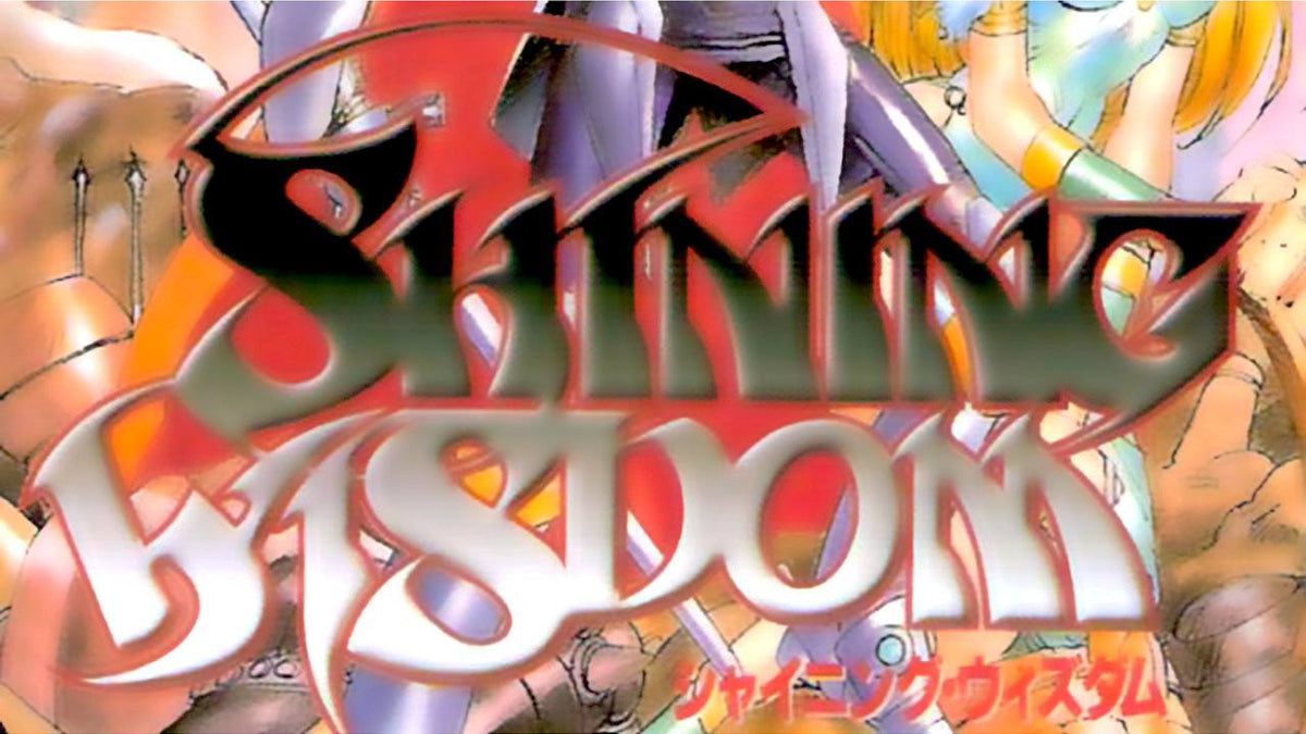 Shining Wisdom Import Sega Saturn Game