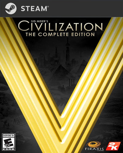 Sid Meier's Civilization V: The Complete Edition PC Game Steam CD Key