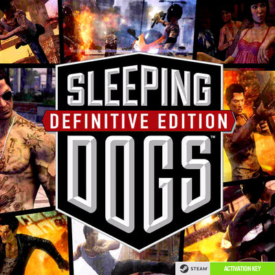 Sleeping Dogs: Definitive Edition PC Game Steam CD Key