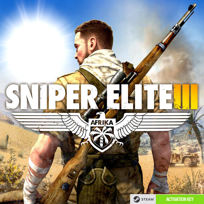 Sniper Elite III PC Game Steam CD Key