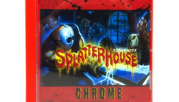 Splatterhouse Chrome Reproduction TurboGrafx-16 Game