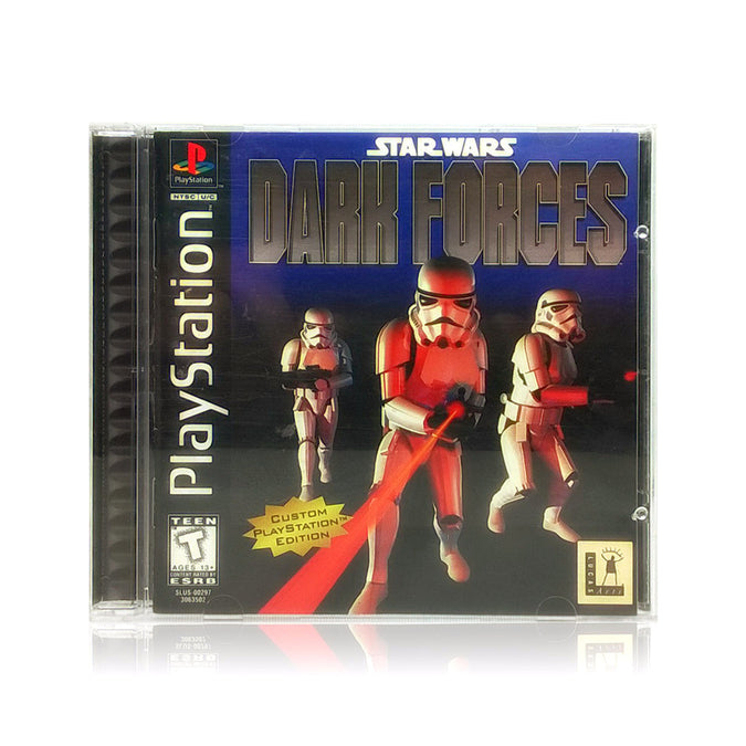 Star Wars: Dark Forces Sony PlayStation Game - Case