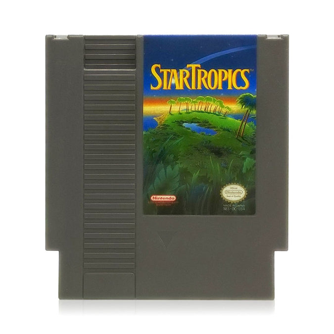 StarTropics NES Nintendo Game - Cartridge