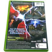 Star Wars Episode III: Revenge of the Sith for Xbox - Back of case