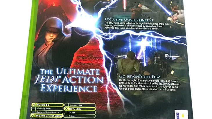Star Wars Episode Iii Revenge Of The Sith For Xbox Pj S Games