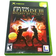 Star Wars Episode III: Revenge of the Sith for Xbox - Front of case
