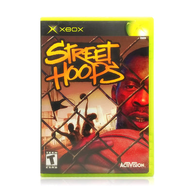 Street Hoops Microsoft Xbox Game - Case