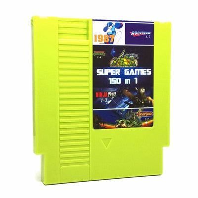 Super Games 150 in 1 NES Nintendo Game