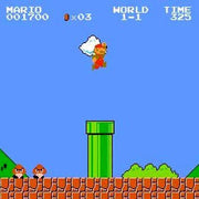 Super Mario Bros/Duck Hunt NES Nintendo Game - Screenshot
