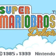 Super Mario Bros. Deluxe Nintendo Game Boy Color Game - Titlescreen