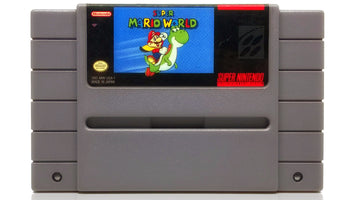 Super Mario World SNES Super Nintendo Game - Cartridge