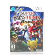 Super Smash Bros. Brawl Nintendo Wii Game - Case