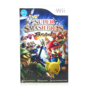 Super Smash Bros. Brawl Nintendo Wii Game - Manual