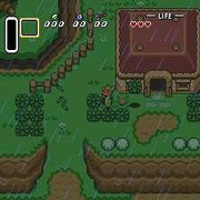 The Legend of Zelda: A Link to the Past SNES Super Nintendo Game - Screenshot