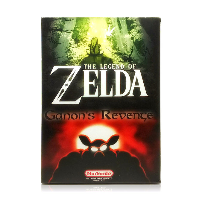 The Legend of Zelda: Ganon's Revenge NES Nintendo Game - Box