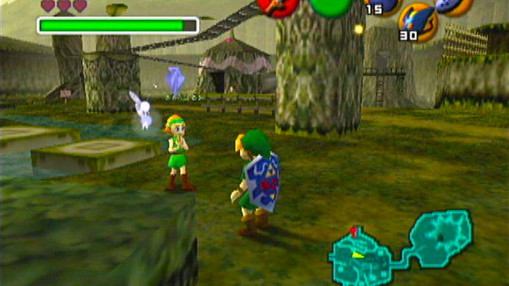 The Legend of Zelda: Ocarina of Time - Master Quest | Nintendo 64 ...
