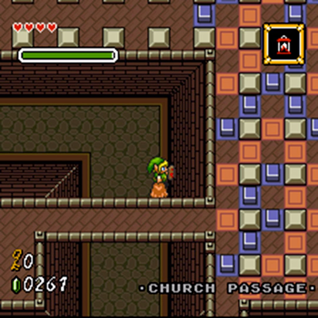 The Legend of Zelda: Parallel Worlds Remodel
