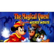 The Magical Quest Starring Mickey Mouse SNES Super Nintendo Game