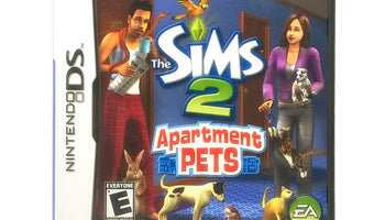 The Sims 2: Apartment Pets Nintendo DS Game - Case