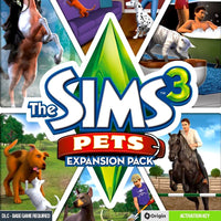 The Sims 3: Pets PC Game CD Origin Key