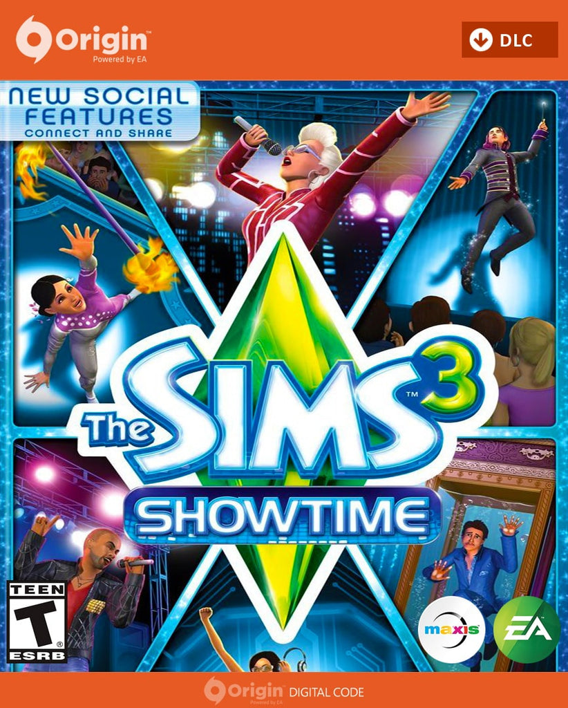 The Sims 3 Download: Buy The Sims 3: Showtime