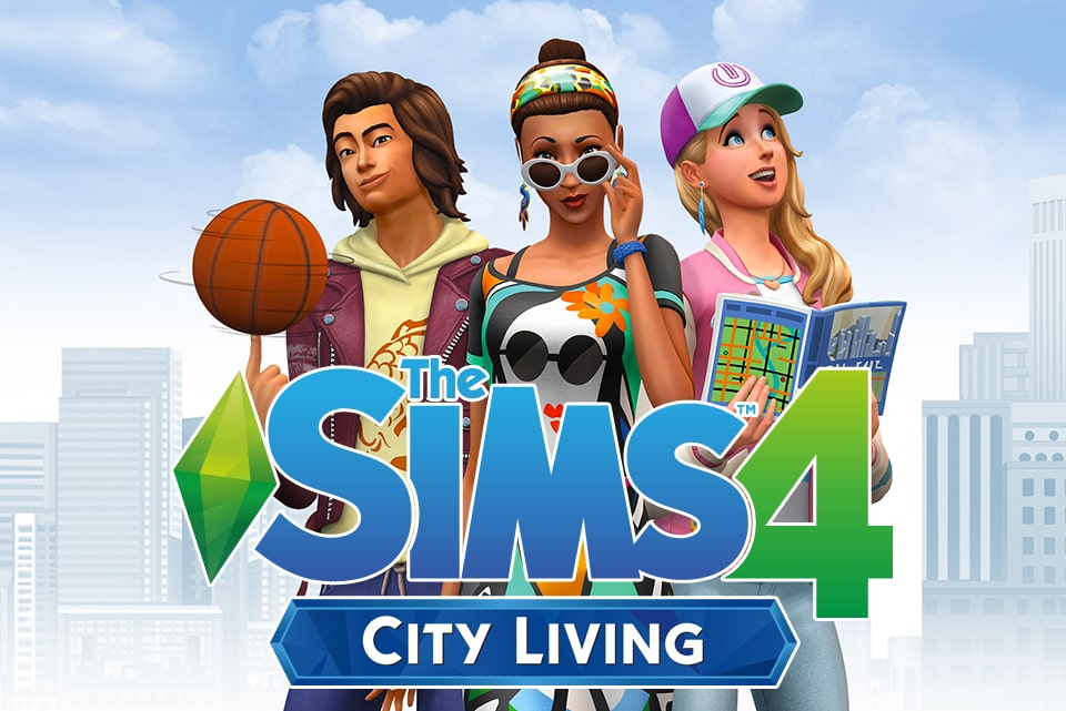 The Sims 4: City Living | Windows Mac | Origin Digital Download