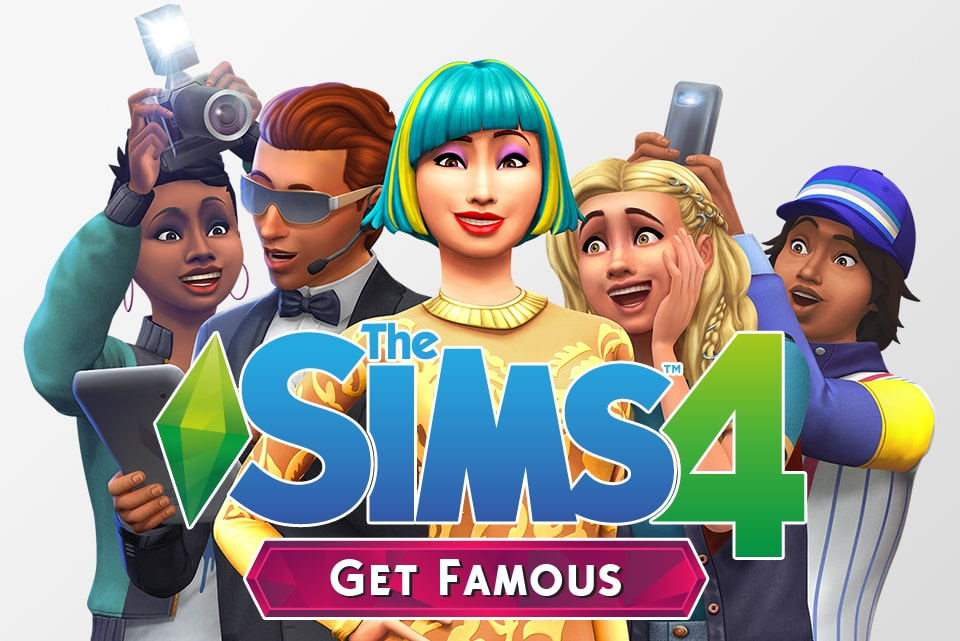 download the sims 4 get famous all dlc