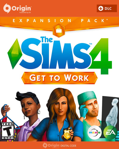 The Sims 4: Get to Work | PC Mac | Origin Digital Download